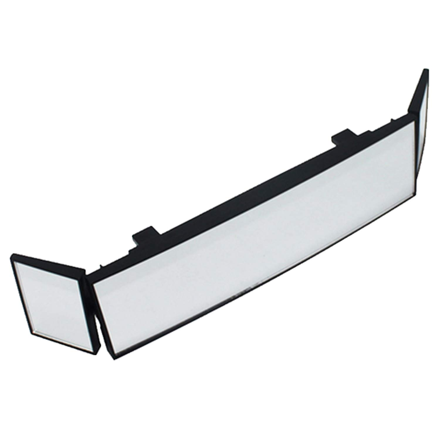 Universal Tri-fold Adjustable Angle HD Car Rearview Rear View Wide Angle Curved Mirror with Card Slot for Cars Vehicle Truck Accessories Vococal P201809210005