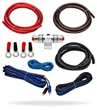 InstallGear 8 Gauge Amp Kit Ga Amplifier Installation Wiring True Spec and Soft Touch Wire