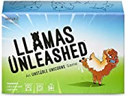 Llamas Unleashed Card Game - from The Creators of Unstable Unicorns - A Strategic Card Game & Party Game for Adults & Teens