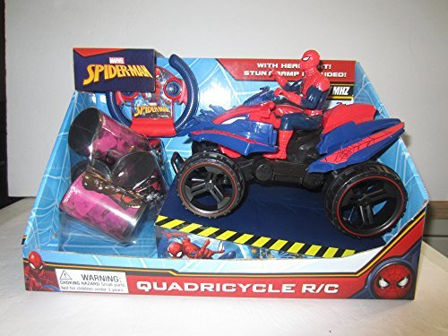 SPIDER-MAN Quadricycle Quad Car Remote Control R/C