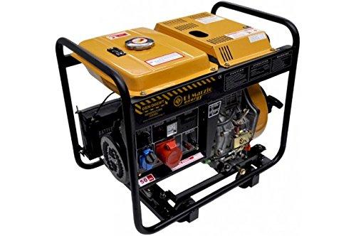 6 kW- dreiphasiger Diesel-Stromerzeuger - Stromaggregat mit E-Start/Handstart