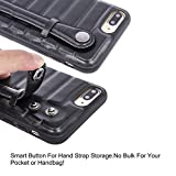 Cadima iPhone 7 Plus Hybrid Case, Hand Strap