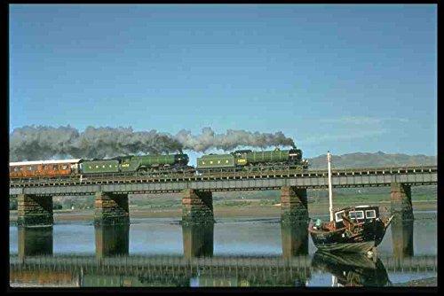 Metal Sign trenes de vapor 182093 Mayflower y Flying Scotsman ...