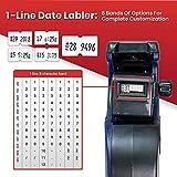 Perco 1 Line Date Gun: 8 Digit 1 Line Date Label