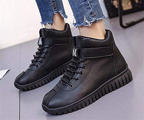 Boots Invernali 39 Deed Pu Eu 's Lacing High Da Donna Scarpe Antiscivolo XSvSqF
