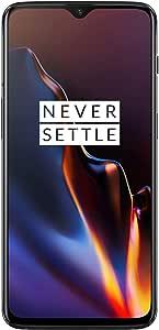 OnePlus 6T A6013 Dual Sim 128GB/6GB (Mirror Black) - Factory Unlocked - GSM ONLY, NO CDMA - No Warranty in the USA