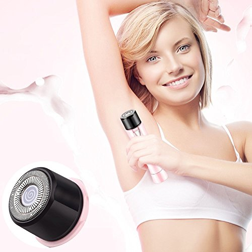 Women Shaver,Ladies Portable Mini Electric Shave,Cordless Women Electric Hair Removal Shaver for Bikini Area,Face,Arm,Leg and Armpit.Wet & Dry