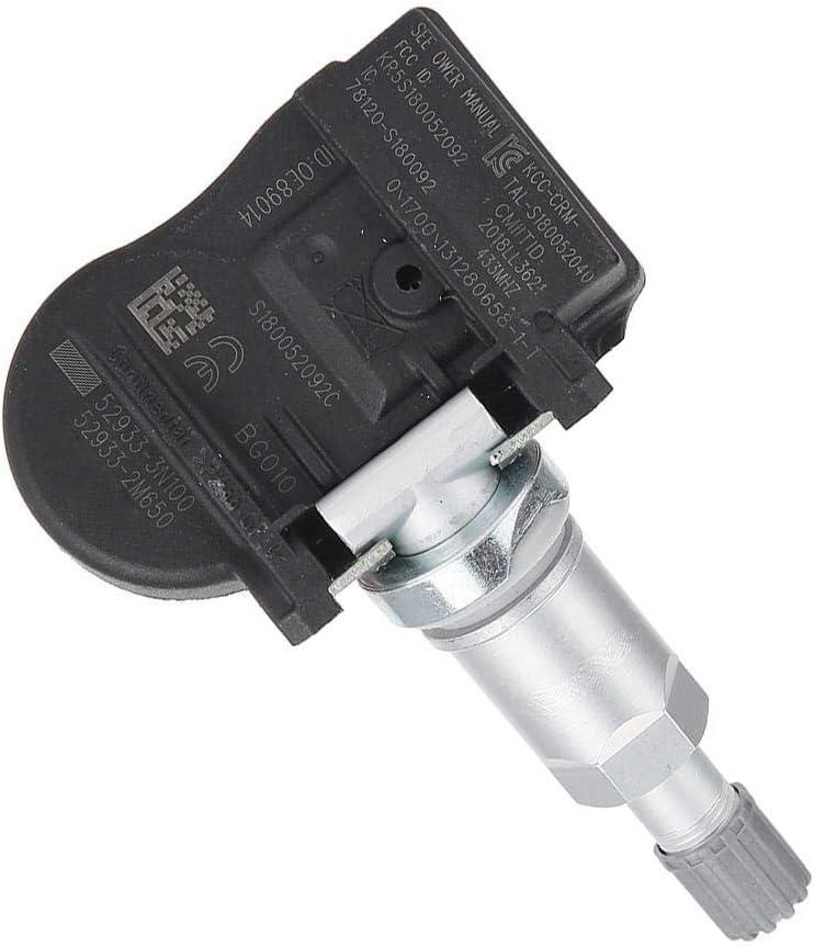 Aramox Tire Pressure Monitor Sensor Car TPMS Sensors Screw-in Fit for HYUNDAI Elantra Kona and KIA Niro OE# 529333N100