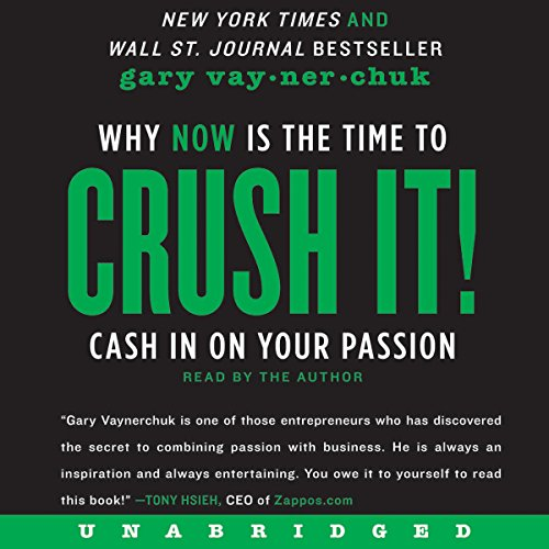 Crush It! by Gary Vaynerchuk Audiobook [Free Download by Trial] thumbnail