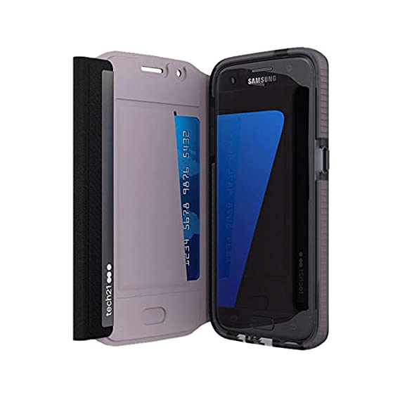 brand new 2cd8c 3ad50 TECH21 EVO Wallet (black) for Samsung Galaxy S7