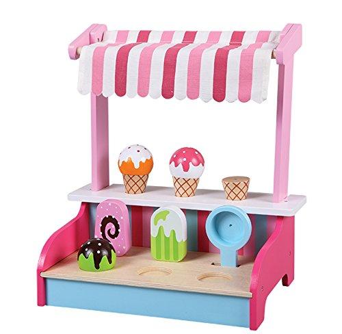 Howa eisstand und weitere kaufladen eis testsieger for Kinder holzküchen