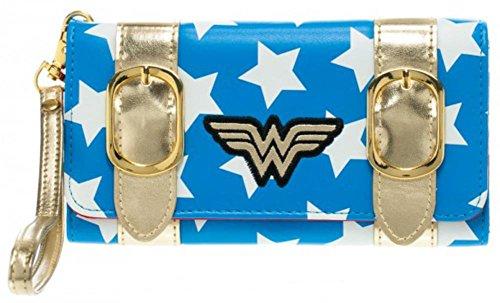 DC Comics Wonder Woman Satchel Fold Billetera