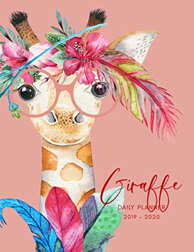 Planner July 2019- June 2020 Giraffe Watercolor Monthly Weekly Daily Calendar: Academic Hourly Organizer In 15 Minute Interval; Appointment Calendar ... Journal Diary With Quotes & Julian ()