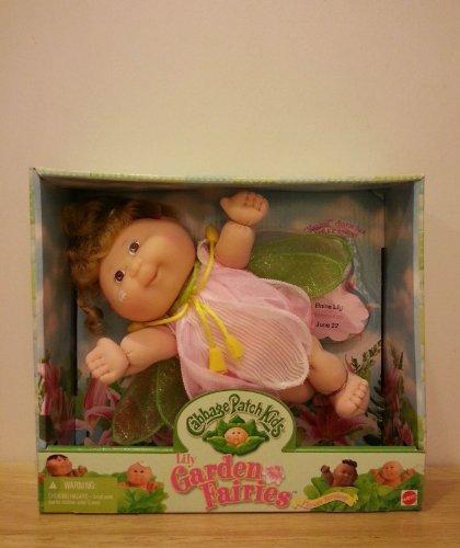 Mattel Cabbage Patch Kids Lily Garden Fairies Doll