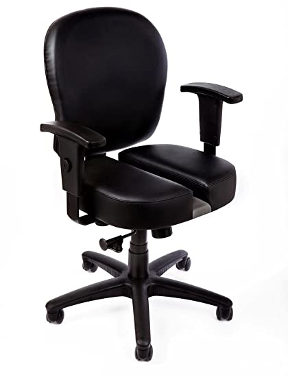 The CT-4547 Back Pain Relief Office Chair with Patented Split Seat Technology For  sc 1 st  Amazon.com & Amazon.com: The CT-4547 Back Pain Relief Office Chair with Patented ...