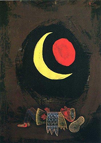 Paul Klee: Strong Dream. Fine Art Print/Poster. (29.7cm x 21cm)