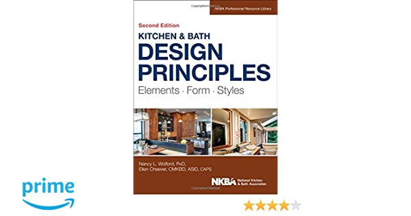 Amazoncom Kitchen and Bath Design Principles Elements Form