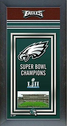 Philadelphia Eagles Framed Super Bowl Championship Mini Banner ()