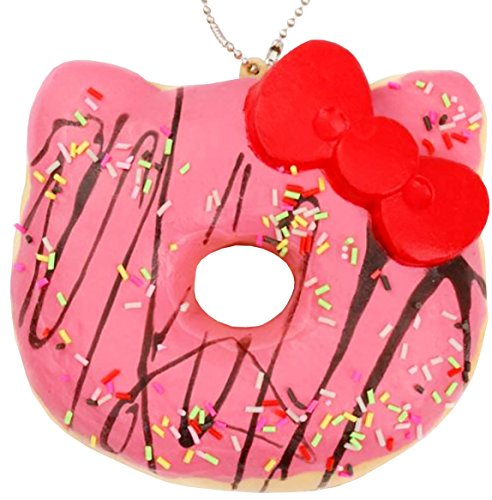 Hello Kitty Sanrio Pink Donut Soft Toy with