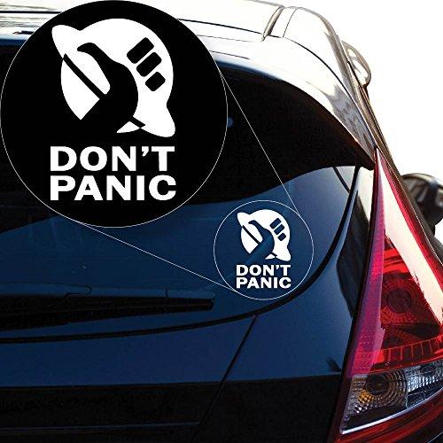 Yoonek Graphics Don't Panic Vinyl Decal Sticker # 855 (4