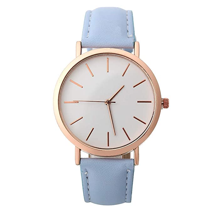 YpingLonk_ Relojes para Mujer Retro Cuero de Imitación ...