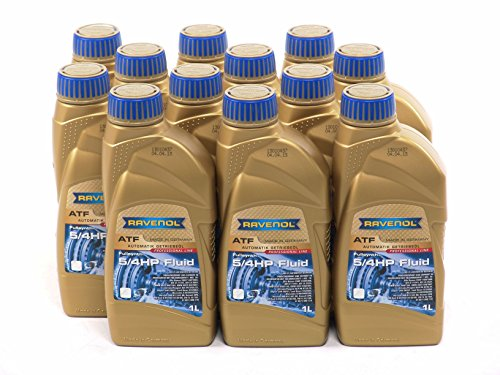 RAVENOL J1D2107-12 ATF (Automatic Transmission Fluid) - 5/4 HP 5-Speed 4-Speed ZF Transmissions (1L, Case of 12) by Ravenol