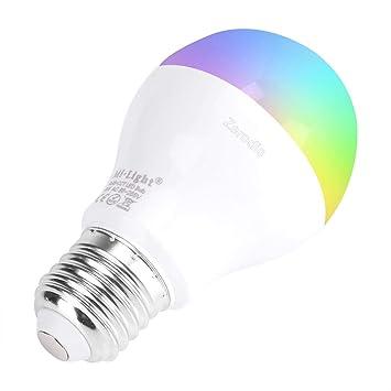 2.4G 6W RGB WIFI LED Licht Dimmable Birne Lampe E27 Mi Licht AC86-265V
