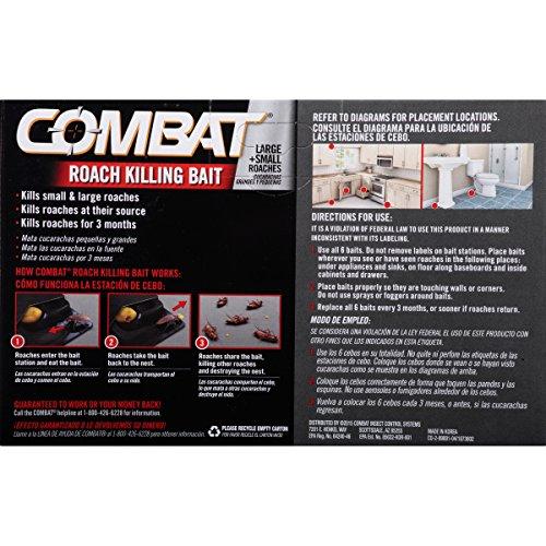 Combat Source Kill 5 Roach Bait, 6 Count