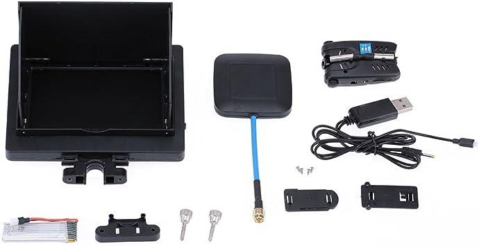 Pantalla FPV 5.8G 8CH con Camara de 2.0MP para Syma x5c,x5sc: Amazon.es: Electrónica