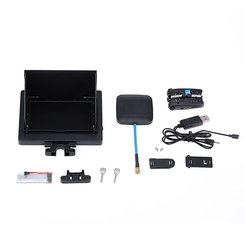 ゴミ箱勤勉なウェイターGoolRC USB 90度 to AV ビデオ 出力 5V DC 電源 BEC 入力 ケーブル  FPV Gopro Hero 3 カメラ用