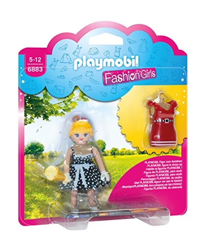 Playmobil Fashion Girl Playset Toy Figure, Multi-Colour, 6883