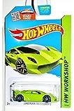 Hot Wheels, 2015 HW Workshop, Lamborghini Sesto Elemento [Lime Green] Die-Cast Vehicle #198/250