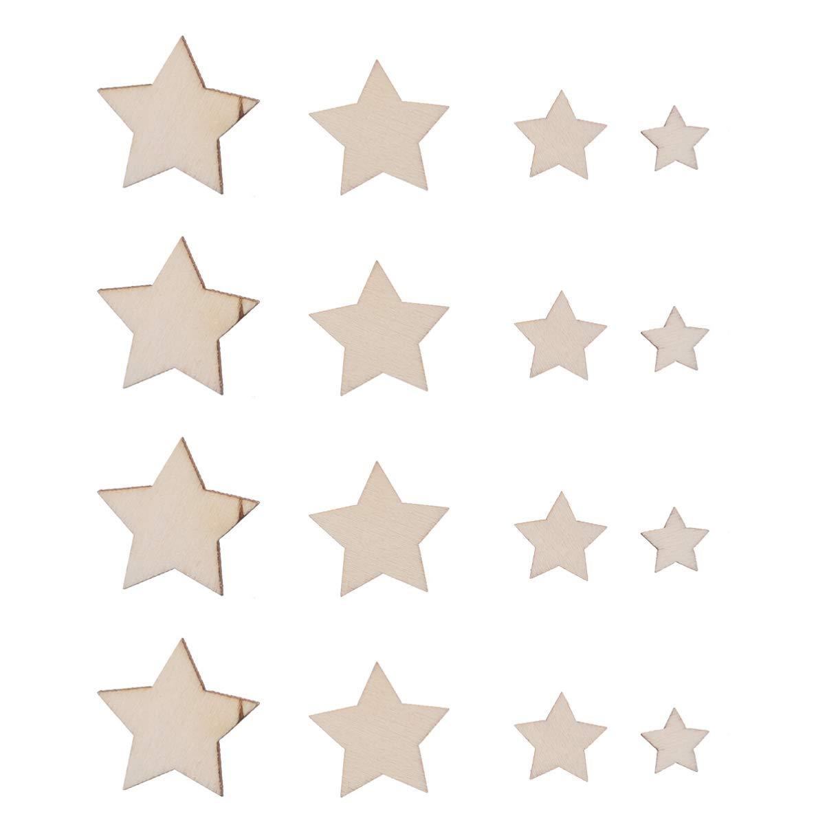 SUPVOX 100 Piezas Bolas de Madera Semi Redondas Madera sin Terminar para Pintar Manualidad Artesan/ía de Adornos de Navidad 15mm