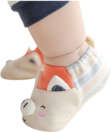 DIGOOD Newborn Baby Girls Boys Cute Cartoon Anti-Slip Socks Soft Slipper Shoes Boots
