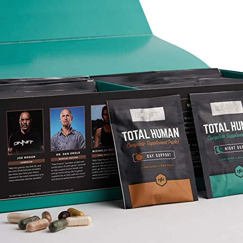 ONNIT Total Human – Daily Vitamin Packs for Men & Women (60 Pack) – 10x Your Multivitamin – Packed with Essential…