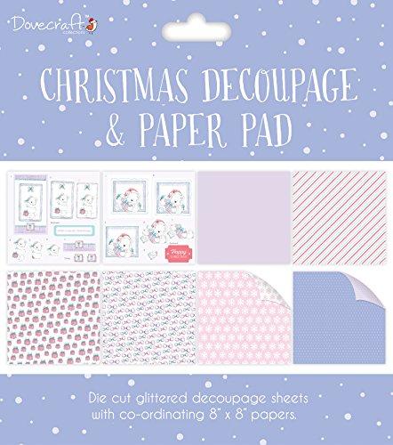 Pad Decoupage (Trimcraft Dcdpg007 Dovecraft Decoupage & Paper Pad 8