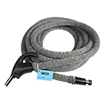 Cen-Tec Systems 99713 Central Vacuum Universal Connect Low Voltage Hose with Hose Sock and Applied Anti-Microbial Spray, 35-Feet