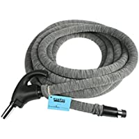 Cen-Tec Systems 99713 Central Vacuum Universal Connect Low Voltage Hose with Hose Sock and Applied Anti-Microbial Spray, 35