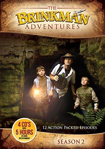 The Brinkman Adventures Season 2 Audio CDs (In Adventures Christmas Odyssey Cd)