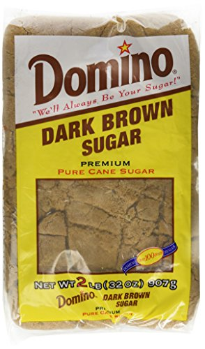 Domino Dark Brown Sugar 2 Lb (Dark Sugar)