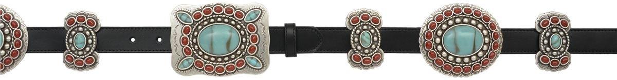 Angel Ranch 1'' Black Ladies' Fashion Belt