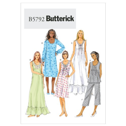 Mccall Pattern Butterick Patterns B5792ZZ0 Misses' Top Se...
