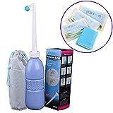 Portable Bidet Sprayer and Travel Bidet with Hand Held Bidet Bottle for Personal Cleansing Use - Include Extended Nozzle - Personal Hygiene Care Toilet Bidet Shower/Bathroom Bidet Spray -21.8oz(620ml)