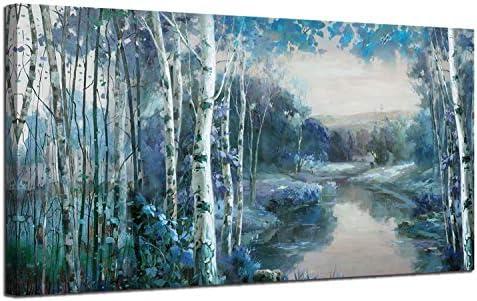 Landscape Painting Mountain Picture Artwork