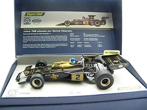 Super Slot Legends H3703A Compatible Lotus 72E GP de Francia 1973