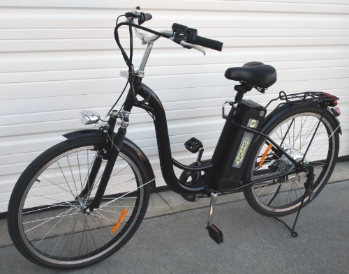 Best price for Watseka XP Sport-Electric Bicycle-26″-6 speed-Adult/Young Adult-Black
