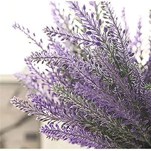 Walnut Romantic Provence Decoration Lavender Flower Silk Artificial Flowers Grain Decorative Simulation of Aquatic Plants 107