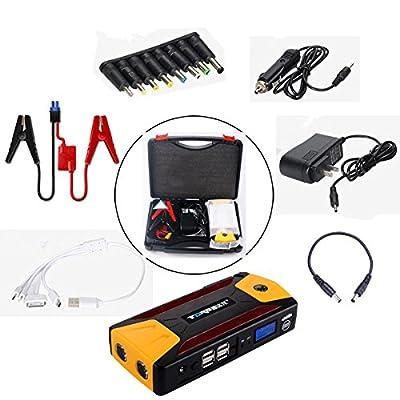 10400mAh 4USB Multi-Function 12V Car Jump Starter Power Bank Rechargeable Battery - Car Electronics - Jump Starter