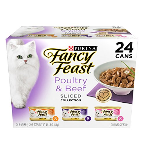 fancy feast cat food sliced - 3