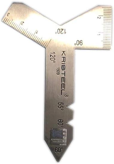 Grinding Gauge Universal Stainless Steel 55°//60°//90° /& 120° Angle Tool Sharpener